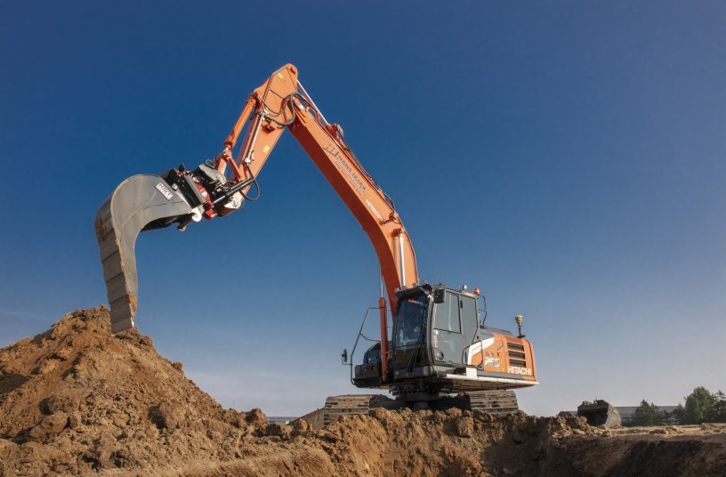 Danish operator's job made easier with the first Hitachi Zaxis-7 medium excavator
