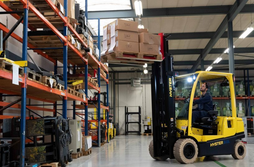 HYSTER® integrated lithium-ion forklifts get tough on industry challenges <br> Image source: Hyster Europe<br>IMAGE SOURCE: Hyster Europe