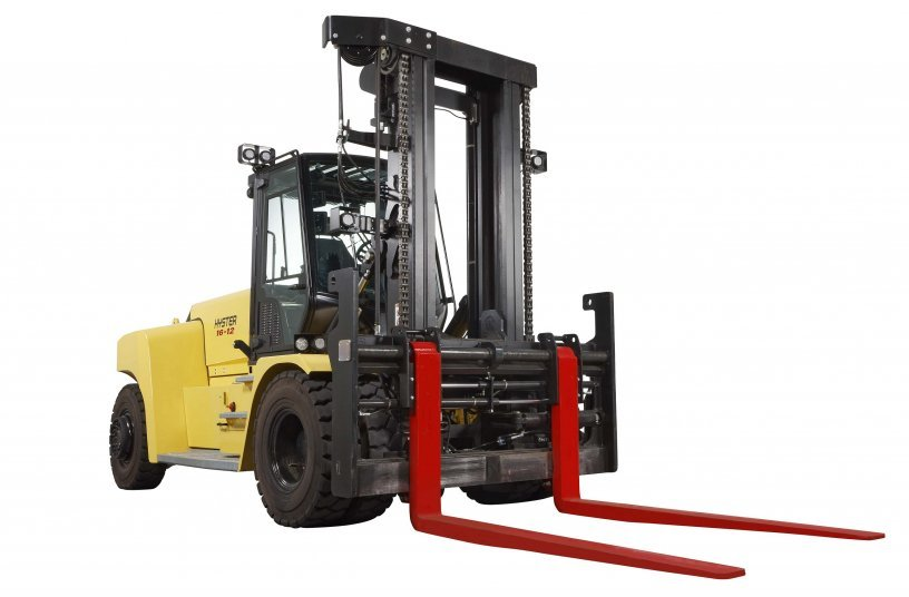 Hyster® lithium-Ion lift trucks for 10-18 tonne loads <br> Image source: MOLOKINI MARKETING LTD; Hyster-Yale Group, Inc.