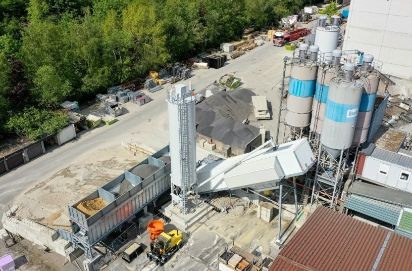 Innovative Technology: EUROMIX® 3300 SPACE by SBM produces UHPC (Ultra High Performance Concrete) for Wind Turbine Towers
