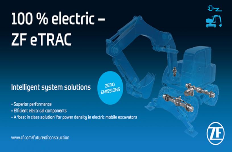 Produktspektrum der erfolgreichen eTRAC GP-Reihe für elektrisch angetriebene Stapler und GSE Anwendungen<br>Bildquelle: ZF Friedrichshafen AG