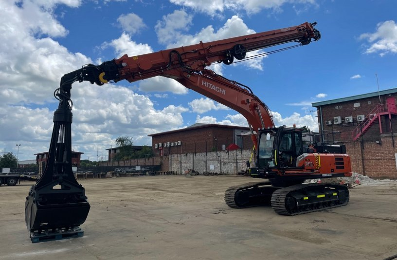 Digging deeper with Hitachi Zaxis-7 special applications