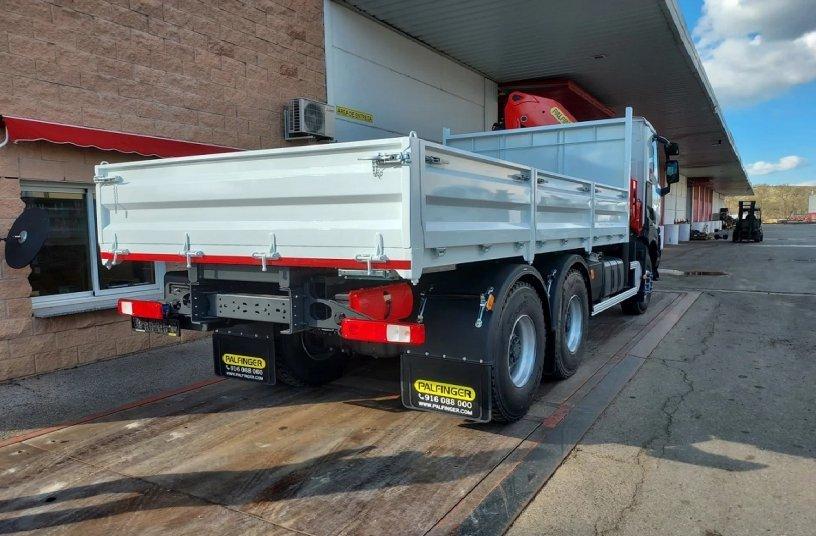 PK 23500 loader crane <br> Image source: PALFINGER AG