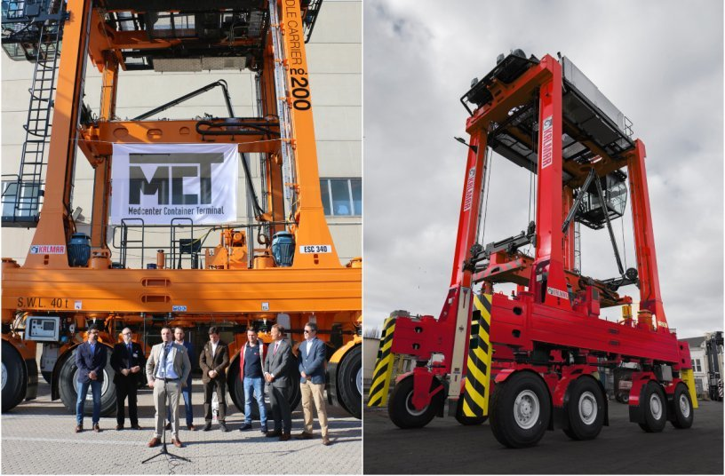 Kalmar to deliver 12 straddle carriers to long-term partner Medcenter Container Terminal in Italy