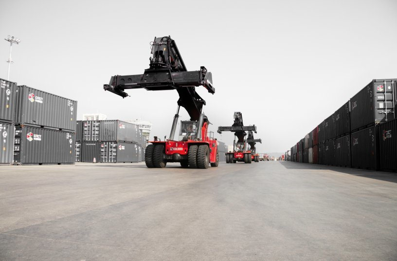 Kalmar secures agreement to supply key Saudi Arabian petrochemical customer with Essential Reachstackers
