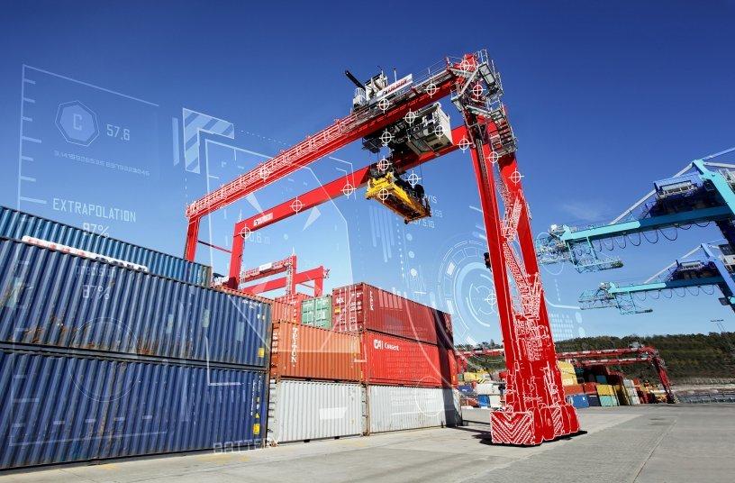 Kalmar's new-generation RTG<br>SOURCE: Cargotec Corporation; Kalmar