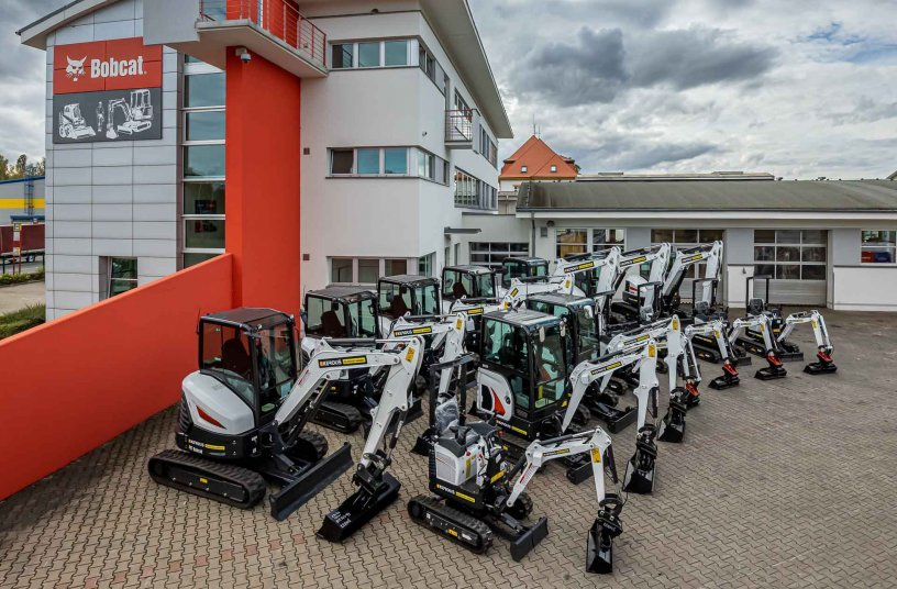 More Success for Bobcat in the Czech Rental Market