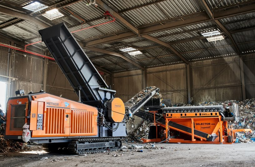 Thanks to the smart combination of individual machines, the operators benefit from higher plant operating efficiency and a quick return on investment.<br>SOURCE: Doppstadt Group