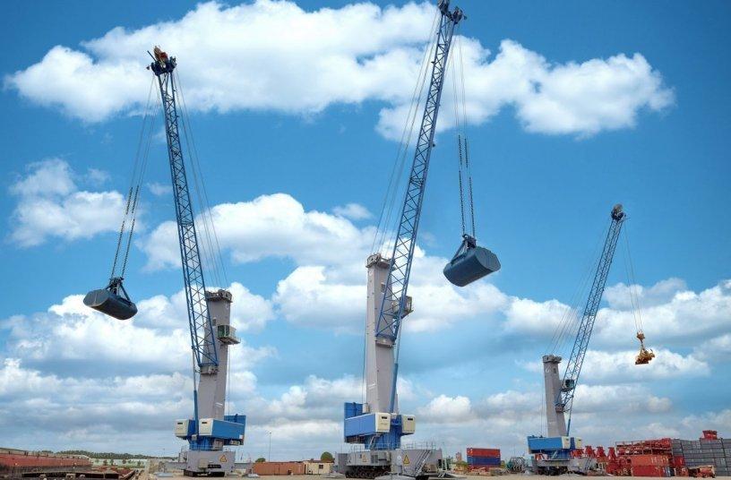 Konecranes Generation 6 Mobile Harbor Cranes <br>Image source: Konecranes