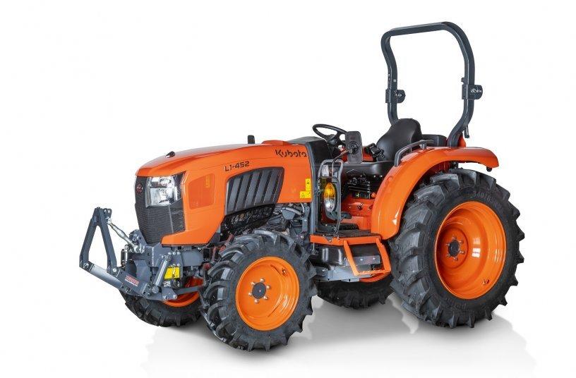 Die neuen Kubota-Kompakttraktoren der Serie L1 wurden im Hinblick auf Langlebigkeit sowie einfache Bedienung und Wartung konzipiert.
