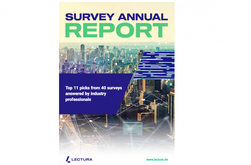 Survey Annual Report by LECTURA<br>IMAGE SOURCE: LECTURA GmbH