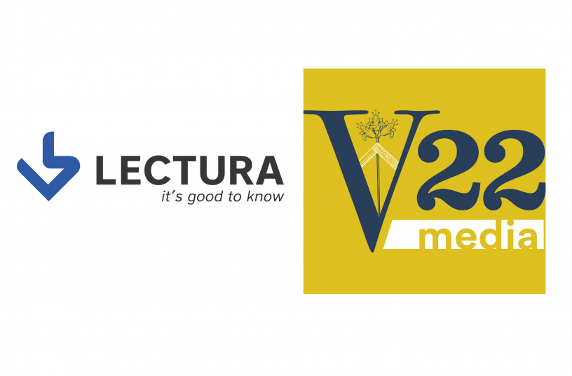LECTURA partners with V22 Media (Italy)<br>IMAGE SOURCE: LECTURA GmbH; V22 Media