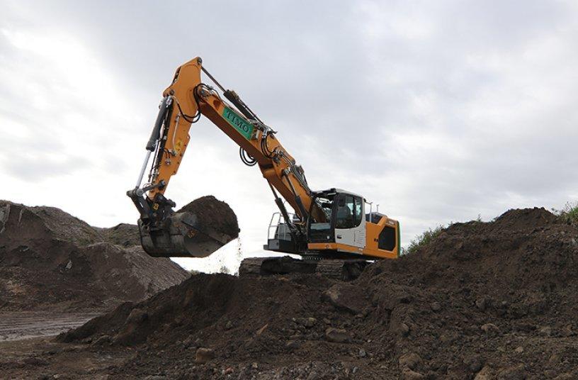 First Generation 8 R 926 excavator in Belgium