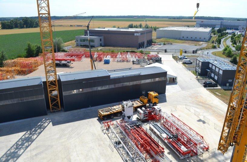 Der Liebherr-Standort in Fontenay-Trésigny wird gleichzeitig zum Nationalen Technischen Zentrum für Liebherr-Turmdrehkrane in Frankreich. <br> Bildquelle: Liebherr-International Deutschland GmbH