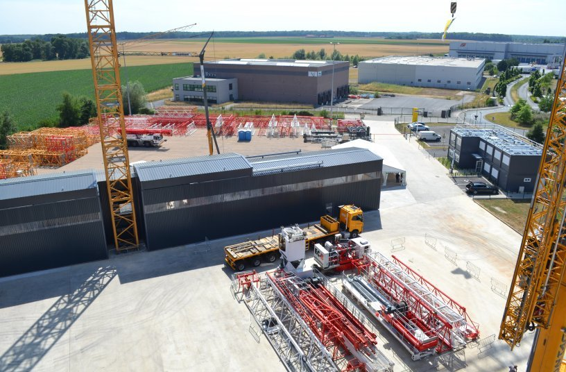 At the same time, the Liebherr subsidiary in Fontenay-Trésigny is being developed into the National Technical Centre for Liebherr Tower Cranes in France. <br> Image source: Liebherr-InternationalDeutschland GmbH