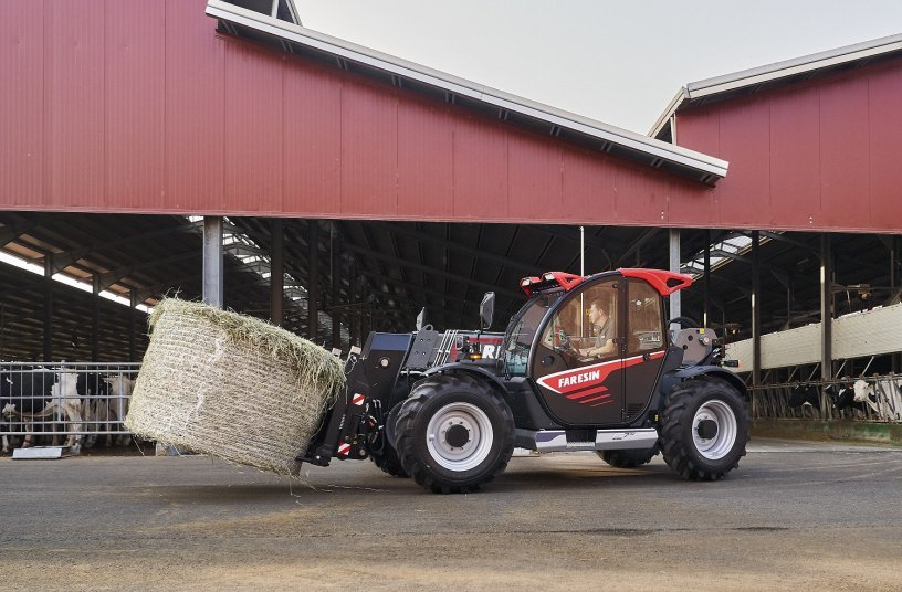 FS 7.32 Compact, the first model of the Next Generation of Faresin telehandlers <br> Bildquelle: Faresin Industries S.p.A.