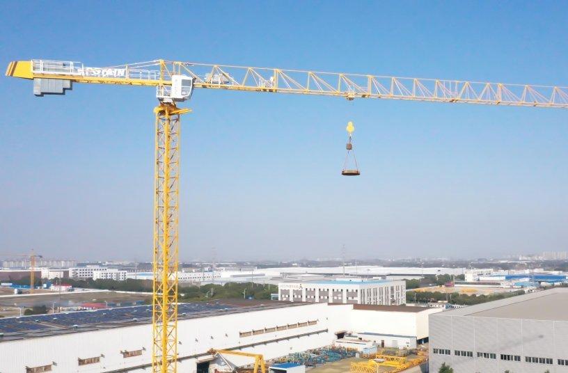 Potain MCT 135 tower crane <br>Image source: The Manitowoc Company, Inc.