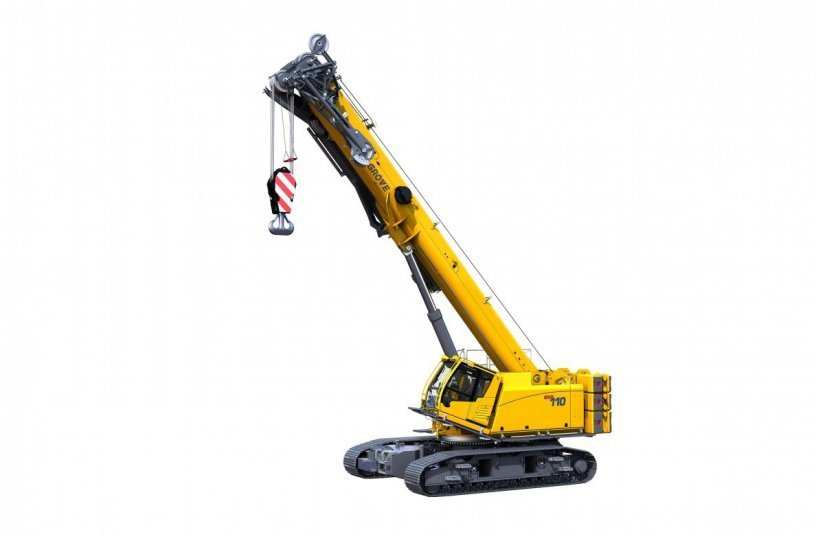 Manitowoc launches class-leading Grove GHC110 telescoping crawler crane <br>Image source: MANITOWOC COMPANY, INC.