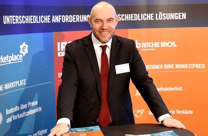 Matthias Ressel ist Vertriebsleiter für die DACH-Region. <br> Bildquelle: Ritchie Bros. Deutschland GmbH; wyynot GmbH, PR-Agentur, Werbeagentur
