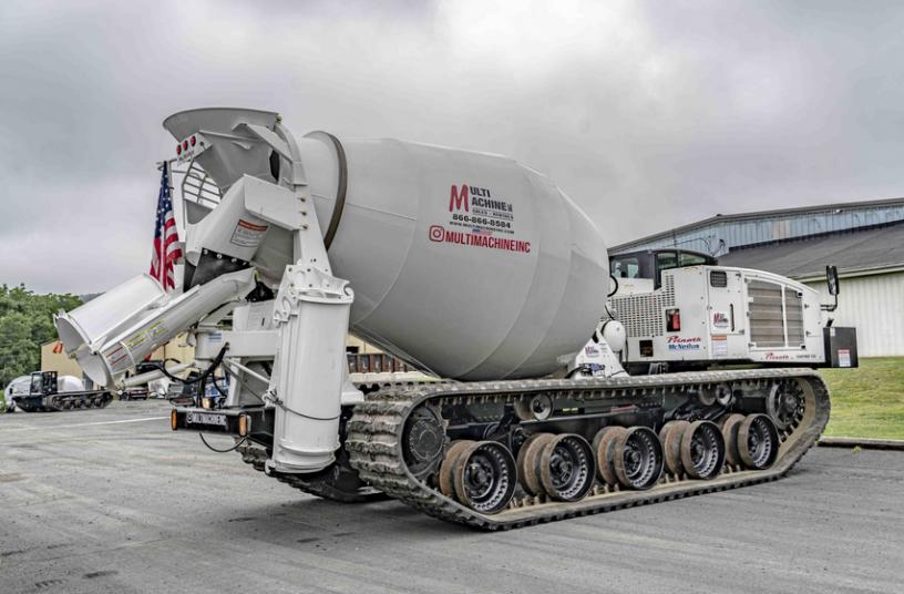 McNeilus Concrete Mixer Prinoth Panther T16