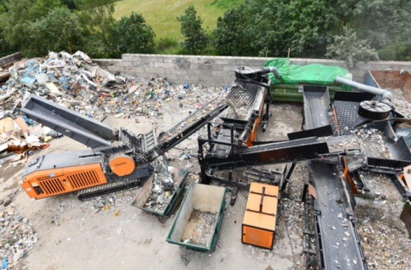 Mobil-modulares Aufbereitungskonzept <br> Bildquelle: Doppstadt Gruppe