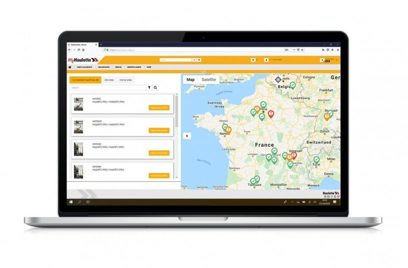 Haulotte introduces SHERPAL telematics solution