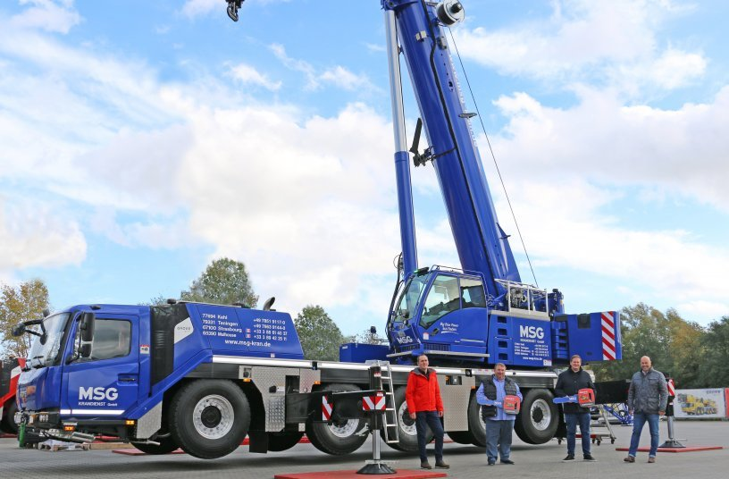 MSG Krandienst strengthens fleet with new four- and five-axle Grove cranes