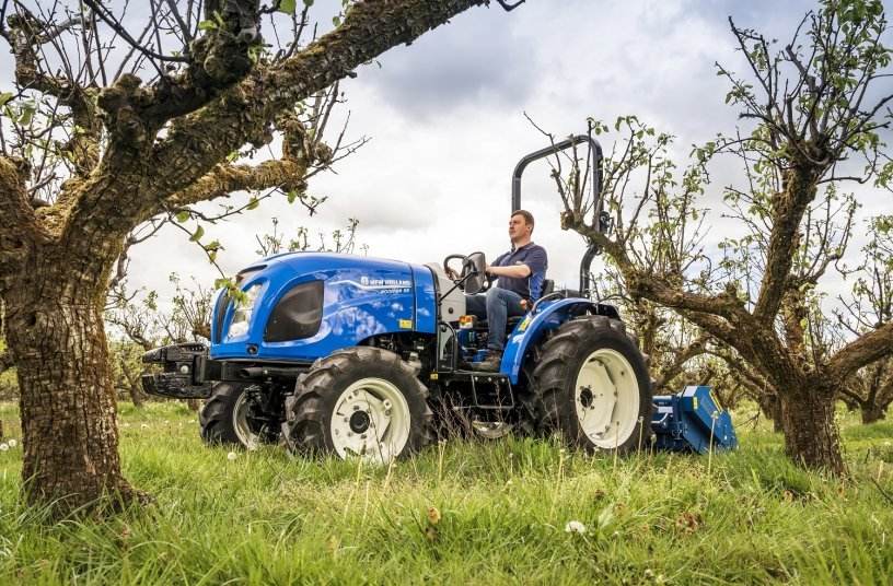 New Holland powers up its compact tractor offering with launch of Stage V Boomer range<br>SOURCE: New Holland Agriculture