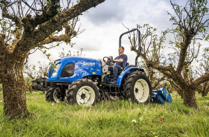 New Holland powers up its compact tractor offering with launch of Stage V Boomer range <br>Image source: New Holland Agriculture