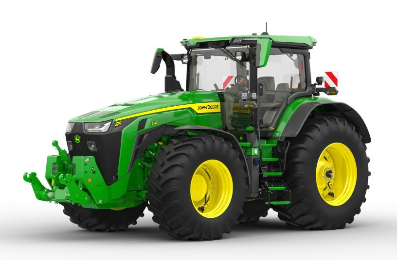 New John Deere central tyre inflation system<br>IMAGE SOURCE: John Deere Walldorf GmbH & Co. KG