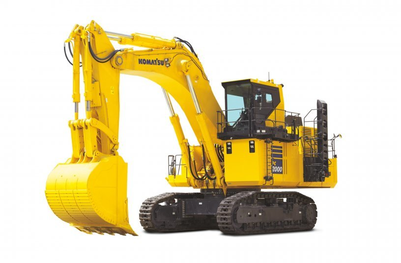 Komatsu Europe Announces PC2000-11 Excavator