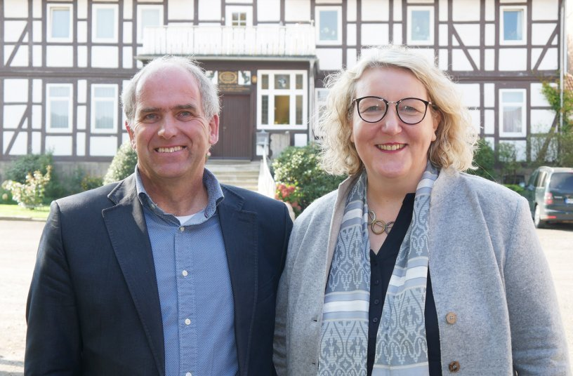Petra und Wilhelm Bohnsack <br> Bildquelle: Bayer AG; a g r o - k o n t a k t