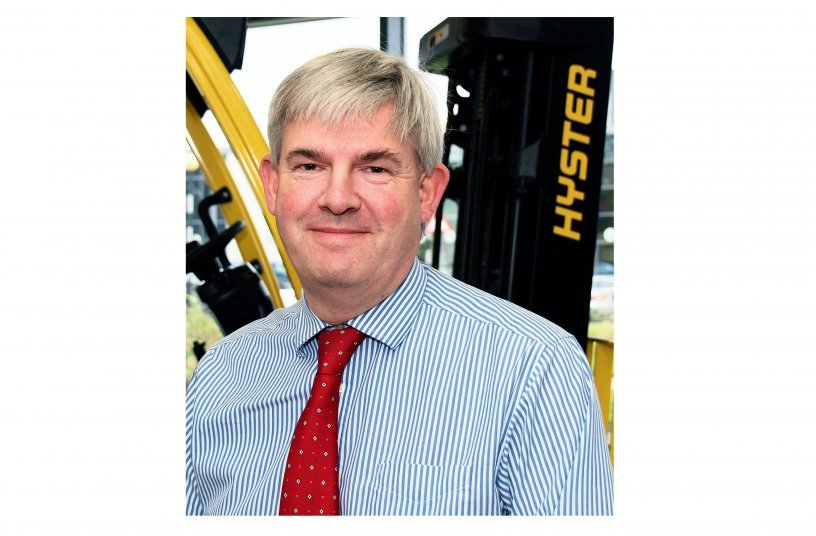 Phil Ireland - Hyster Europe (Image source: Hyster Europe)