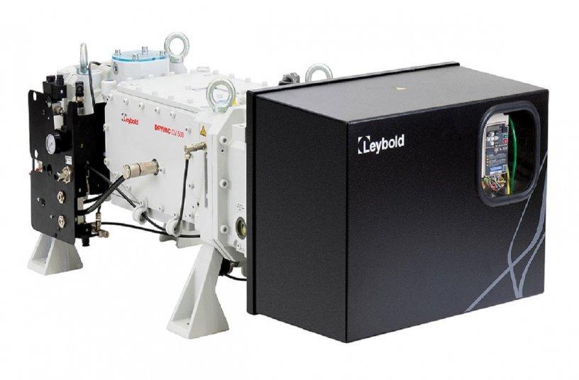Leybold DRYVAC DV 500 <br>Image Source: Leybold GmbH; PR Schulz</br>