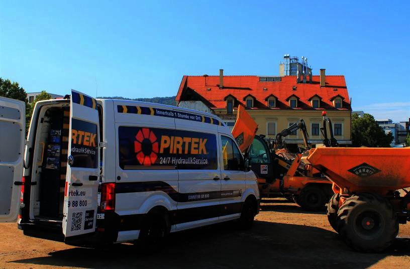 Pirtek Werkstattwagen<br>Bildquelle: Pirtek