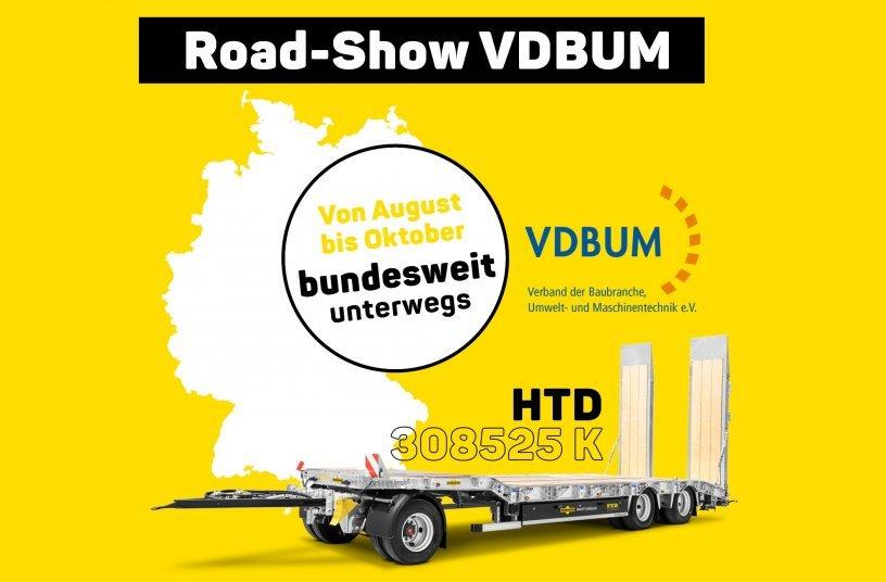Humbaur auf der VDBUM Road-Show <br> Bildquelle: Humbaur GmbH