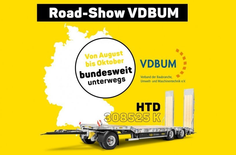 Humbaur at the VDBUM Road Show <br>Image source: Humbaur GmbH