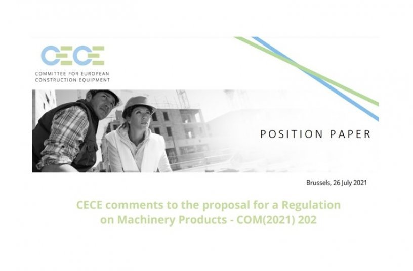 CECE publishes amendment proposals for an industry-friendly Machinery Products Regulation<br>IMAGE SOURCE: CECE - Committee for European Construction Equipment