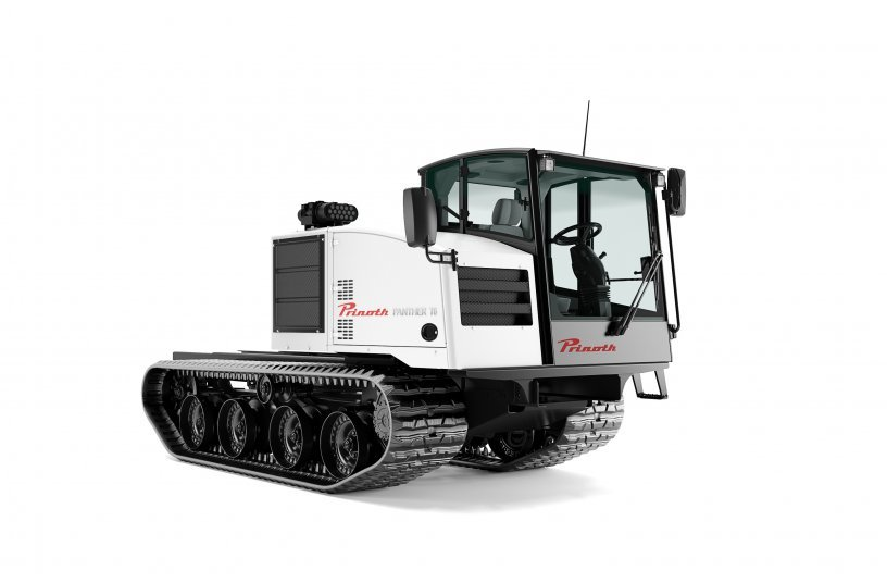 PRINOTH PANTHER T6 2021 Bare Chassis<br>IMAGE SOURCE: PRINOTH LTD