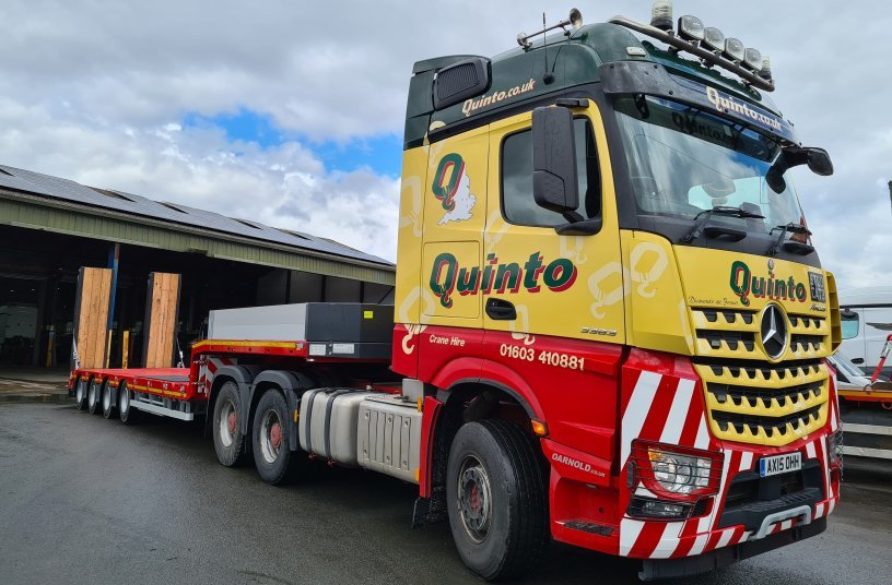 Quinto takes over first »STEPSTAR« from STH<br>SOURCE: GOLDHOFER Aktiengesellschaft