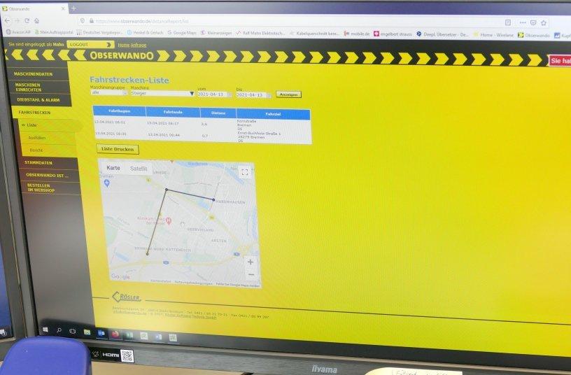 Der APP Obserwando<br>Bildquelle: Rösler Software-Technik GmbH; Teubert Kommunikation