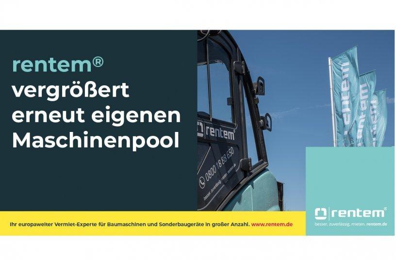 rentem GmbH vergrößert erneut eigenen Maschinenpool <br> Bildquelle: rentem GmbH