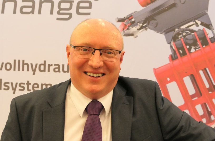 Wolfgang Vogl, Geschäftsführer der Rototilt GmbH mit Sitz in Regensburg, verantwortet die Märkte Deutschland, Österreich und die Schweiz.  Foto: Rototilt