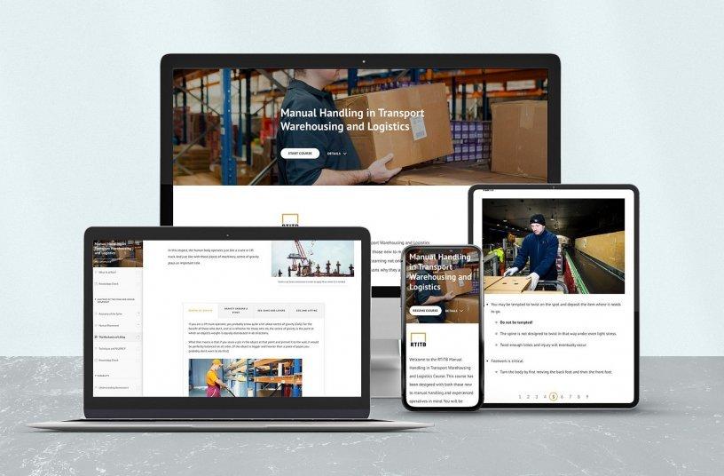 RTITB Launches New Manual Handling eLearning<br>IMAGE SOURCE: RTITB; MOLOKINI MARKETING LTD