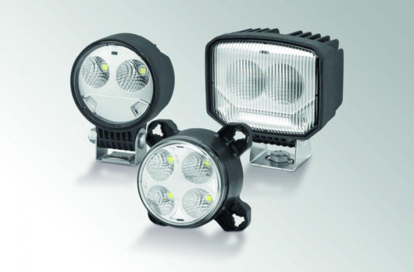 Die S-Serie ergänzt die bestehenden Arbeitsscheinwerfer-Familien Modul 70, Modul 90 und Power Beam.<br>Bildquelle: HELLA