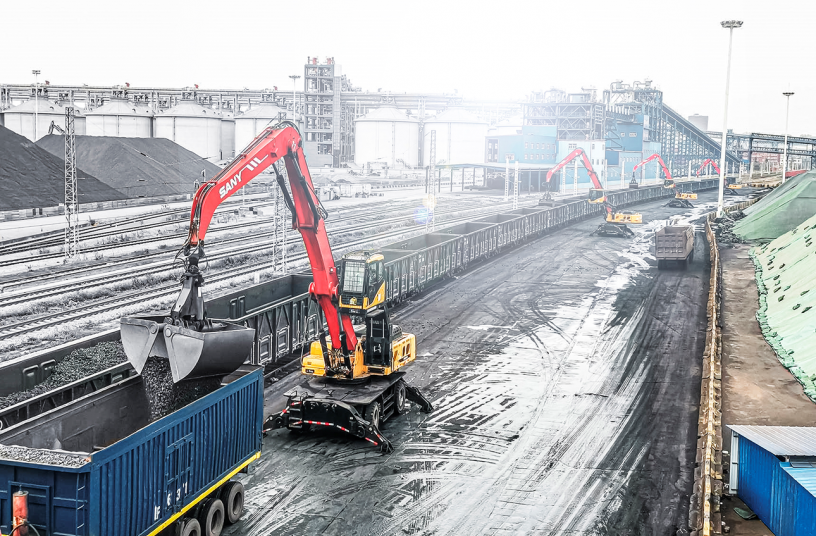 SANY powerhouses for efficient material handling
