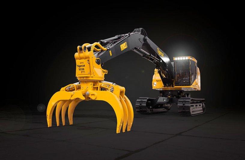 Tigercat releases new LSX870D shovel logger