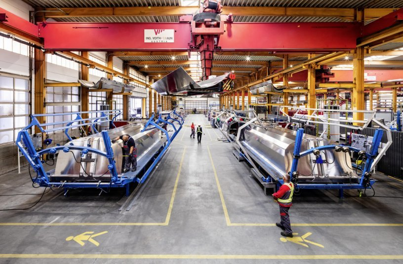 The Schwarzmüller Group anticipates a record year, with turnover of 400 million euros. <br>Image source: Schwarzmüller Group