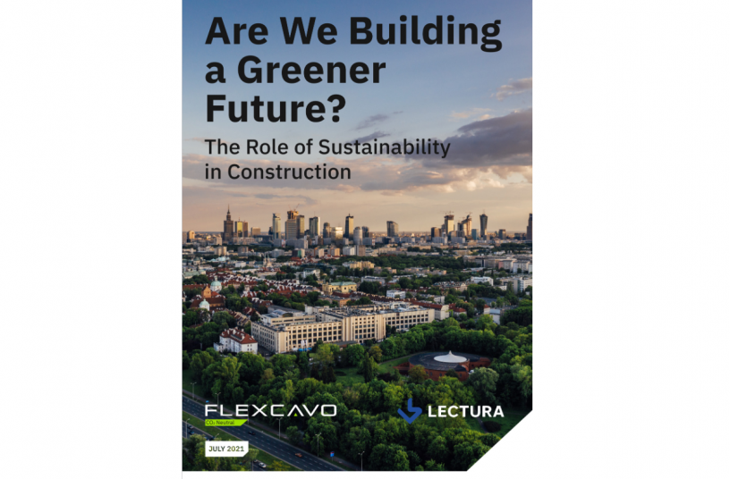 LECTURA and Flexcavo introduce: Are We Building a Greener Future?