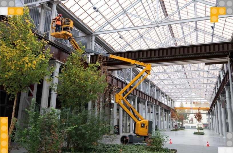 New SIGMA 16 electric articulating booms: simply essential